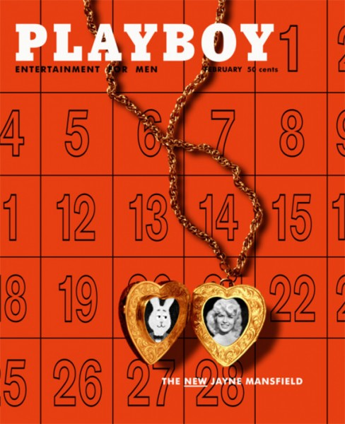 Playboy 1957 Februar US Originalausgabe