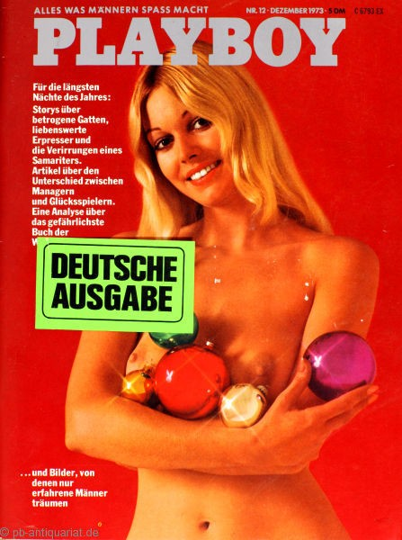 Playboy Dezember 1973, Playboy 1973 Dezember, Playboy 12/1973, Playboy 1973/12