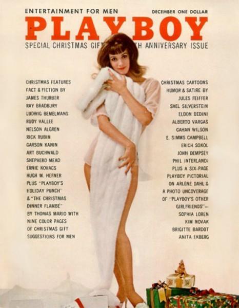 Playboy 1962 Dezember USA Originalausgabe