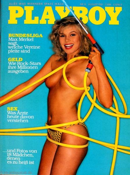 Playboy August 1981, Playboy 1981 August, Playboy 8/1981, Playboy 1981/8