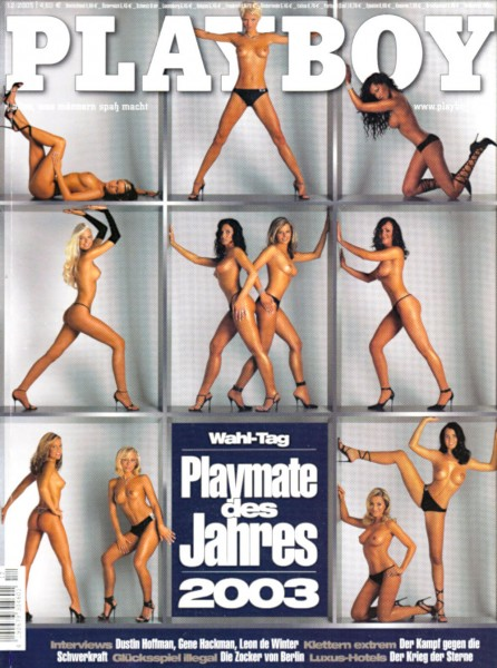 Playboy Dezember 2003, Playboy 2003 Dezember, Playboy 12/2003, Playboy 2003/12