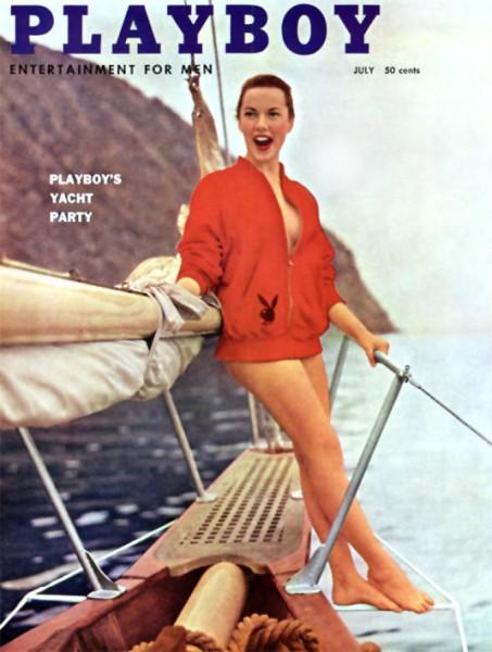 Playboy 1957 Juli US Originalausgabe