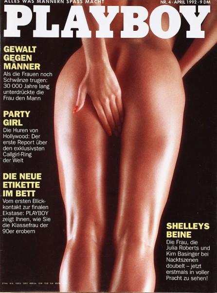 Playboy April 1992