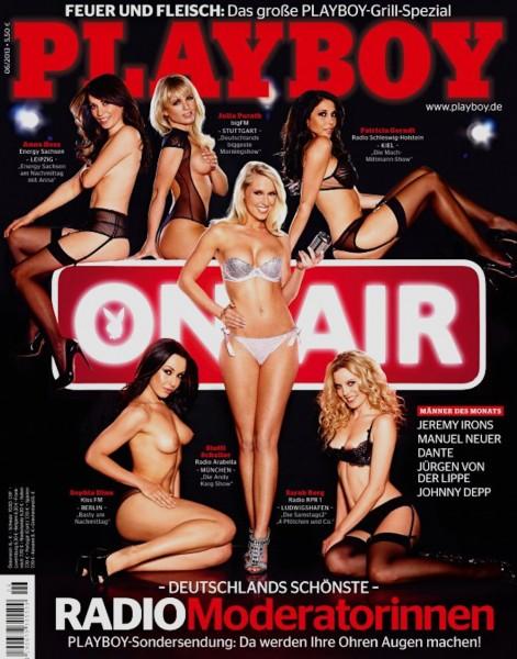 Playboy Juni 2013, Playboy Verena Stangl, Playboy Sarah Berg, Playboy Sophia Dinu, Playboy Patricia Gerndt , Playboy Anna Hess, Playboy Julia Porath, Playboy Steffi Schaller