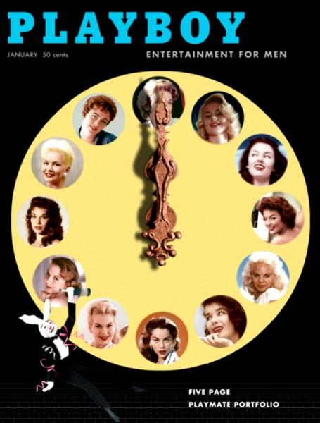 Playboy 1957 Januar US Originalausgabe