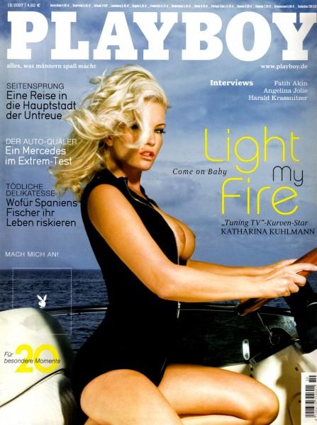 Playboy Oktober 2007, Playboy 2007 Oktober, Playboy 10/2007, Playboy 2007/10