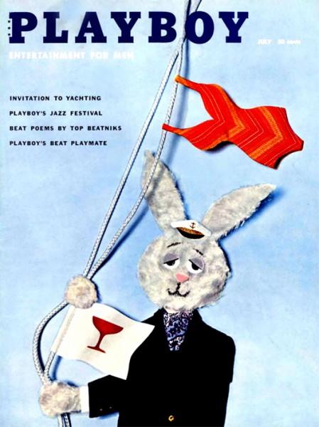 Playboy Juli 1959, Playboy 1959 Juli, Playboy 7/1959, Playboy 1959/7