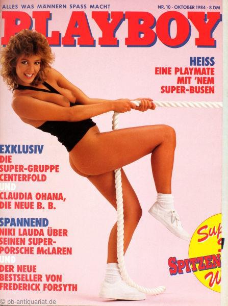 Playboy Oktober 1984, Playboy 1984 Oktober, Playboy 10/1984, Playboy 1984/10
