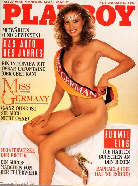 Playboy August 1986