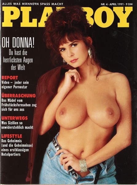 Playboy April 1991