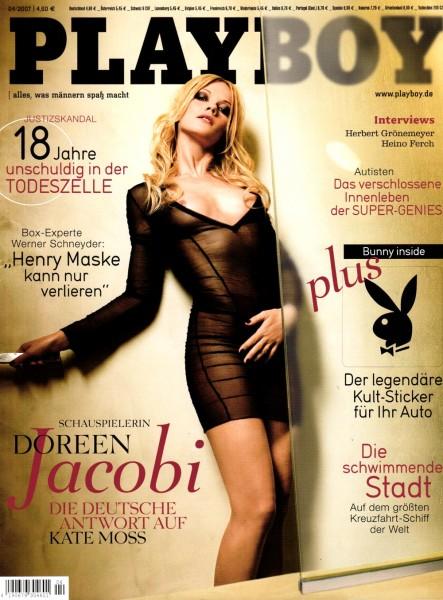 Playboy April 2007, Playboy 2007 April, Playboy 4/2007, Playboy 2007/4
