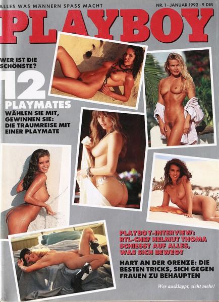 Playboy Januar 1992, Playboy 1992 Januar, Playboy 1/1992, Playboy 1992/1