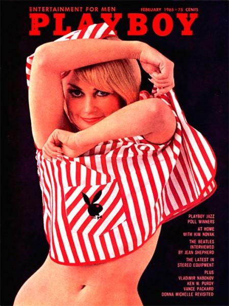 Playboy Februar 1965, Playboy 1965 Februar, Playboy 2/1965, Playboy 1965/2