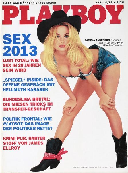 Playboy April 1993, Playboy 1993 April, Playboy 4/1993, Playboy 1993/4
