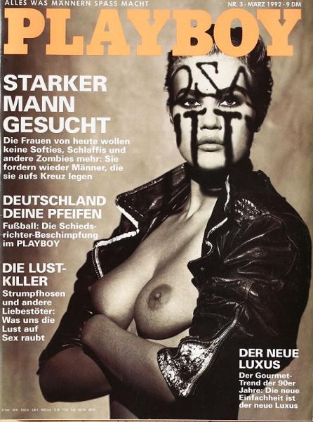 Playboy März 1992