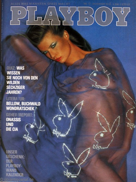 Playboy Dezember 1978, Playboy 1978 Dezember, Playboy 12/1978, Playboy 1978/12