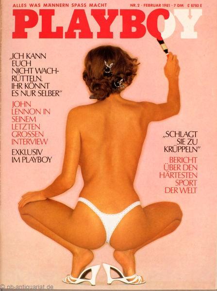 Playboy Februar 1981, Playboy 1981 Februar, Playboy 2/1981, Playboy 1981/2