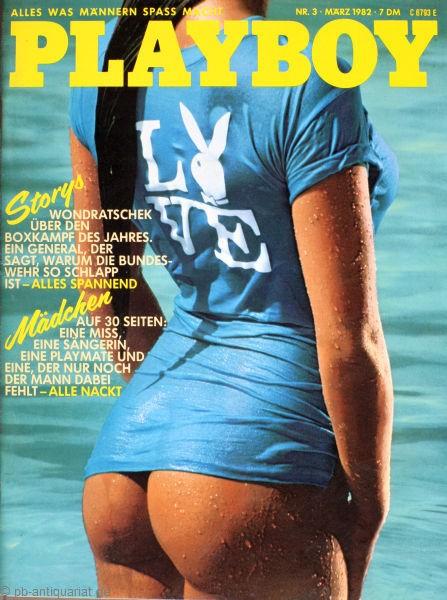 Playboy März 1982, Playboy 1982 März, Playboy 3/1982, Playboy 1982/3