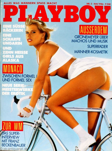 Playboy Mai 1986, Playboy 1986 Mai, Playboy 5/1986, Playboy 1986/5