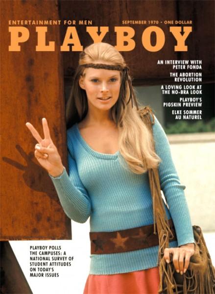 Playboy September 1970, Playboy 1970 September, Playboy 9/1970, Playboy Elke Sommer, Playboy 1970/9