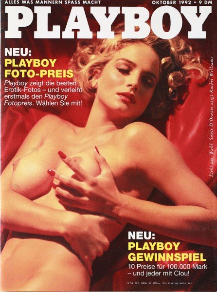 Playboy Oktober 1992, Playboy 1992 Oktober, Playboy 10/1992, Playboy 1992/10