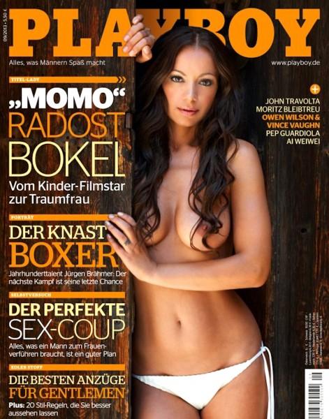 Playboy September 2013, Playboy Momo, Playboy Radost Bokel, Playboy Bokel