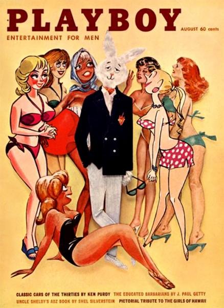 Playboy 1961 August USA Originalausgabe