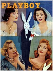 Playboy Februar 1956, Playboy 1956 Februar, Playboy 2/1956, Playboy 1956/2