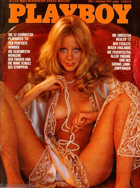 Playboy Januar 1977, Playboy 1977 Januar, Playboy 1/1977, Playboy 1977/1