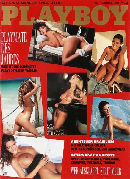 Playboy Januar 1991, Playboy 1991 Januar, Playboy 1/1991, Playboy 1991/1