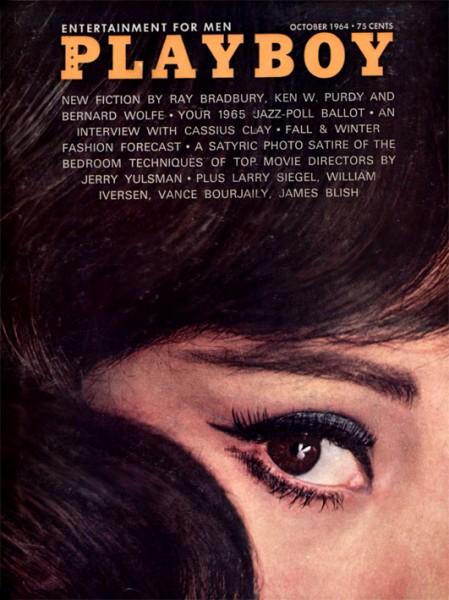 Playboy 1964 Oktober USA Originalausgabe