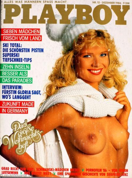 Playboy Dezember 1986, Playboy 1986 Dezember, Playboy 12/1986, Playboy 1986/12