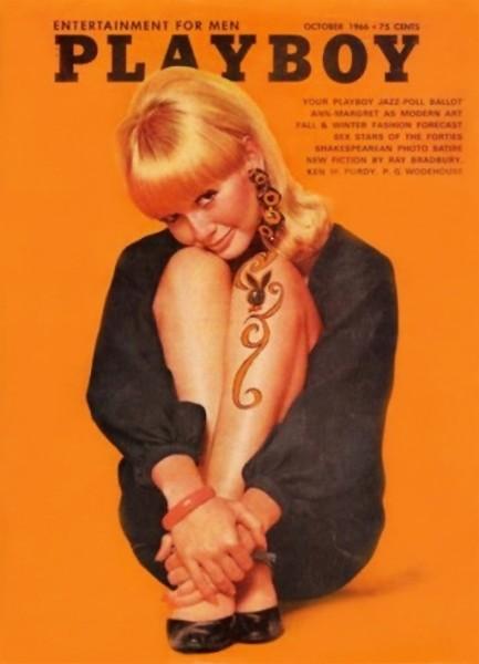 Playboy 1966 Oktober USA Originalausgabe