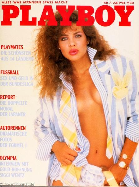 Playboy Juli 1988, Playboy 1988 Juli, Playboy 7/1988, Playboy 1988/7