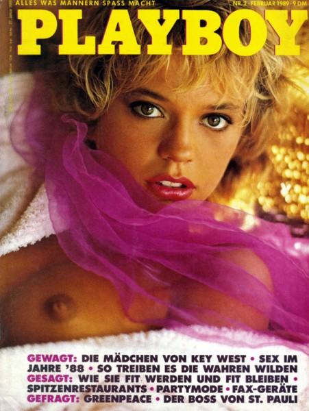 Playboy 1989 Februar Deutsche Originalausgabe