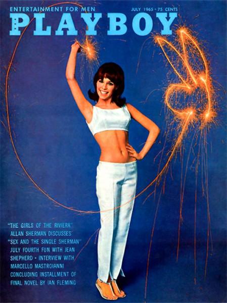 Playboy 1965 Juli USA Originalausgabe