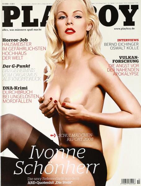 Playboy Oktober 2008, Playboy 2008 Oktober, Playboy 10/2008, Playboy 2008/10