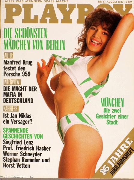 Playboy August 1987, Playboy 1987 August, Playboy 8/1987, Playboy 1987/8