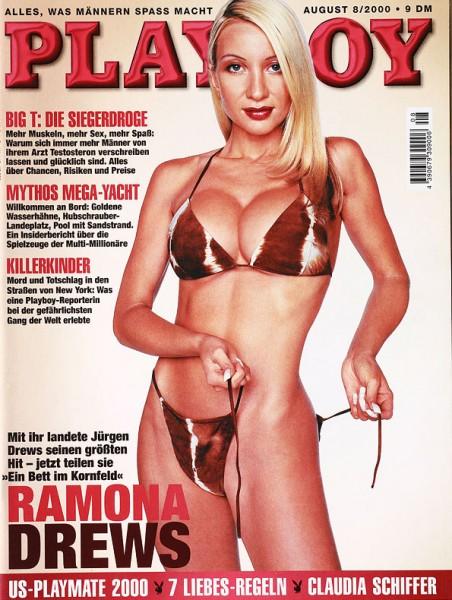 Playboy August 2000