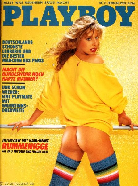 Playboy Februar 1983, Playboy 1983 Februar, Playboy 2/1983, Playboy 1983/2