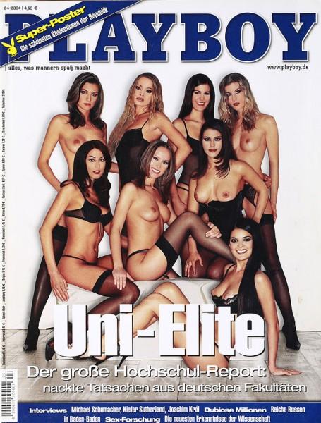 Playboy April 2004, Playboy 2004 April, Playboy 4/2004, Playboy 2004/4