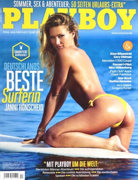 Playboy August 2014, Playboy 2014 August, Playboy 8/2014, Playboy 2014/8, Playboy Janni Hönscheid