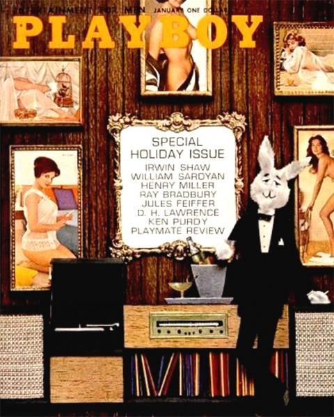 Playboy 1962 Januar USA Originalausgabe