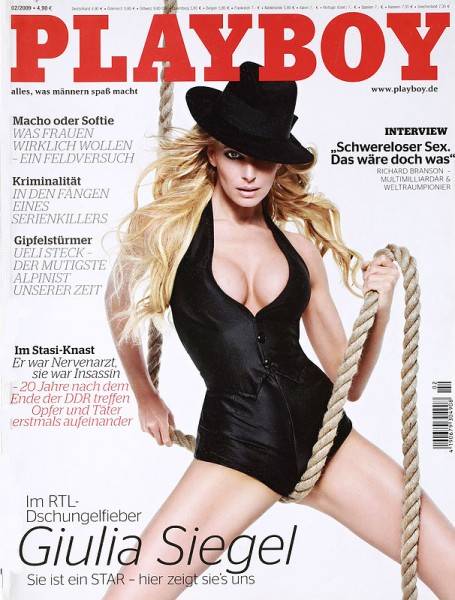 Playboy Februar 2009, Playboy 2009 Februar, Playboy 2/2009, Playboy 2009/2