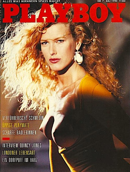 Playboy Juli 1990, Playboy 1990 Juli, Playboy 7/1990, Playboy 1990/7