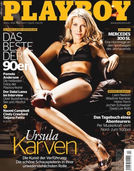 Playboy April 2012, Playboy 2012 April, Playboy 4/2012, Playboy Ursula Karven