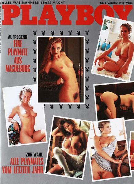 Playboy Januar 1990, Playboy 1990 Januar, Playboy 1/1990, Playboy 1990/1