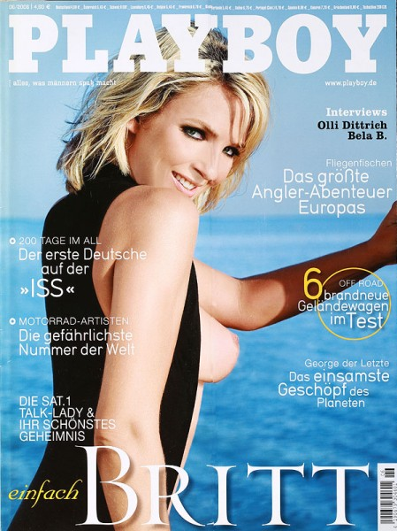 Playboy Juni 2006, Playboy 2006 Juni, Playboy 6/2006, Playboy 2006/6