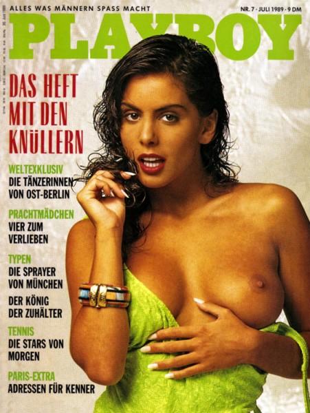 Playboy Juli 1989, Playboy 1989 Juli, Playboy 7/1989, Playboy 1989/7