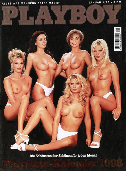 Playboy Januar 1998, Playboy 1998 Januar, Playboy 1/1998, Playboy 1998/1